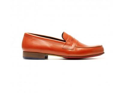 Penny loafer orange