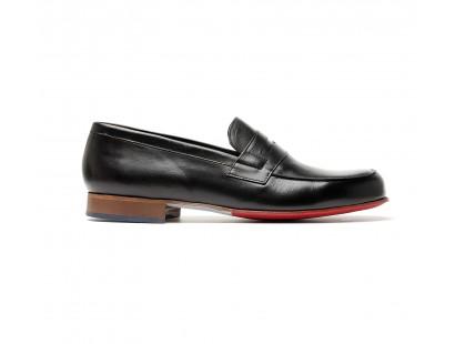penny loafer noir