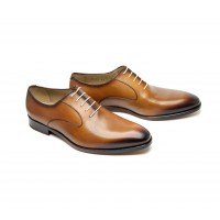 whisky calf leather oxford