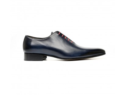 Dark blue one cut oxford