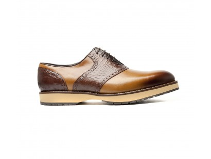 "saddle oxfords bi materials ""BIG SOLES"""