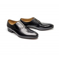 Black plain oxford