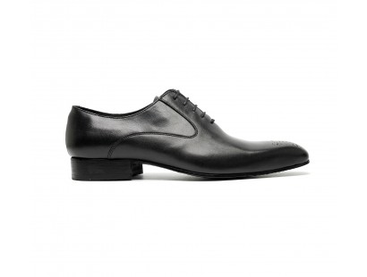 black calf oxfords