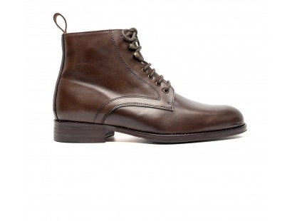 bottines marron petite pointure