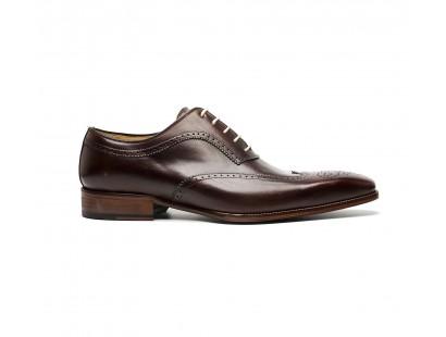brown calf leather full brogue