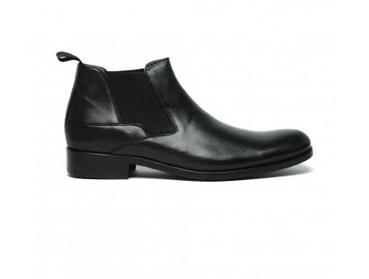 Boots à élastiques noir
